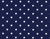 Cotton, Westphalian fabrics, Hamburg, blue and white dotted