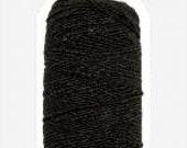 Veno, Elastic sewing thread black 0.5 mm wide, 30 m