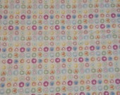 Cotton, Hilco, Girls Thing, White, Hearts in Dots Colorful
