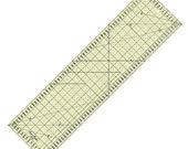 Universal ruler, patchwork ruler non-slip, 80 x 16 cm
