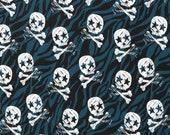 Jersey, Theo, Skulls, Blue, Black