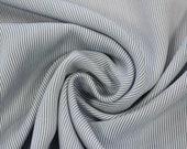 Viscose, blue-blue white finely striped