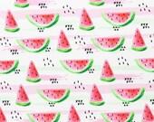 Jersey, white, melon, watercolor
