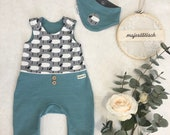Firstset, Baby Set, Romper, Neck Scarf Size 56