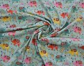 Jersey, mint, colorful boho elephant