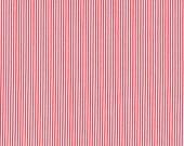 Cotton, Westphalian Fabrics, Capri, Hamburg, Rosenborg, Red White Stripes