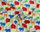Cotton, colourful zoo animals, Westfalenbons