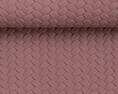 imitation leather, pinto, old pink, braided, braided optics