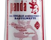 Filling wadding, panda, white 1kg
