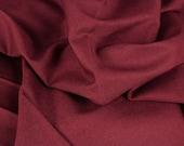 Cotton, burgundy, dark red, wine red