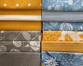 Cotton, Fabric Package, Westphalian Fabrics, Patchwork, Mainau/Capri