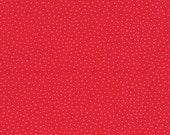 Westfalen cotton, red, dotted