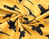 Jersey, yellow/mustard, aviator