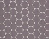 Cotton, white, grey dots 5 cm, Doro