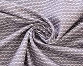 Cotton, grey, waves