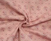 Westfalen cotton, old pink, pink, mint, flower