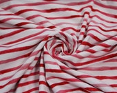 Jersey, red/white striped, watercolor