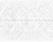 VENO cotton slanted ribbon, white, folded 60/30, width 3 cm, pre-folded from 6 cm to 3 cm