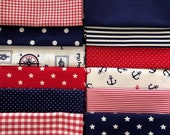 Cotton, Fabric Package, Westphalian Fabrics, Patchwork, Hamburg