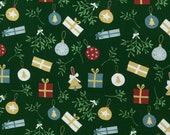Jersey, Feliz Navidad, Christmas, Green, Balls, Gifts