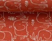 Jersey, Benno, rust/terracotta, elephant