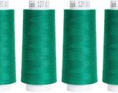 Troylock 120 2500 m, overlock yarn, green