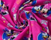 Disney Jersey, pink, Minnie and Daisy