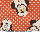 Disney Jersey, Minnie Mouse, Red, White Dotted