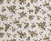 Sweat, cream, blue and ochre flowers