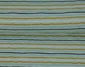 Jersey, mint, stripes, ochre-light blue-white-dark blue