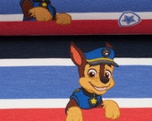 Jersey, red/blue striped, Paw Patrol Chase