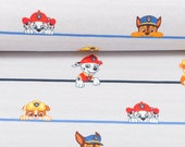 Jersey, License, Bright Striped, Paw Patrol Chase, Rubble, Marshal