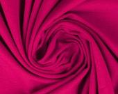 Jersey, uni hot pink