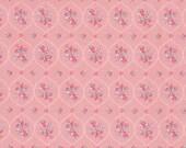 Westfalenstoffe, cotton, princess, old pink, pink, mint, flower
