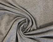 Jersey, mini stripes, narrow stripes, light grey, dark grey