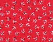 Westfalen Cotton, red, white anchor