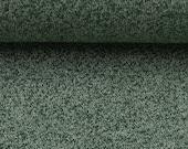 Knit, dark green mottled
