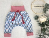 Pump pants, maritim, little boat, size 68