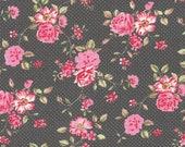 Interlock Jersey, Westphalian fabrics, anthracite, polka dots, roses
