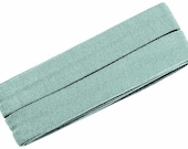 Jersey inclined band, light-minted, width 2 cm, pre-folded from 4 cm to 2 cm, length: 3 m