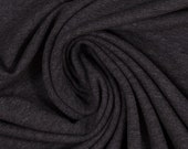 French Terry, summer sweat, anthracite mottled
