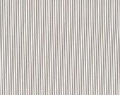 Cotton, Westphalian fabrics, Rosenborg, taupe white stripes