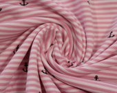 Jersey, pink/white striped, small anchor