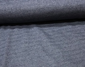 Sweat with lambskin back, dark blue, jeans blue