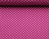 Jersey, purple, white dots 3 mm