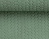 imitation leather, pinto, mint, braided, braided optics