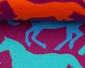 Sweat, Purple, Horses