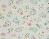 Jersey, Girls Liberty, White, Flowers