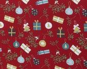Jersey, Feliz Navidad, Christmas, Red, Balls, Gifts