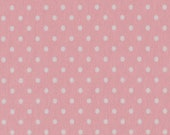 Jersey Verena 431 , pink, white dots 3 mm